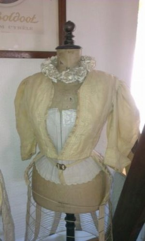 Antique victorian bodice jacket